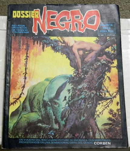 Dossier Negro #89Spain - Oct. 1976Swamp Thing #4