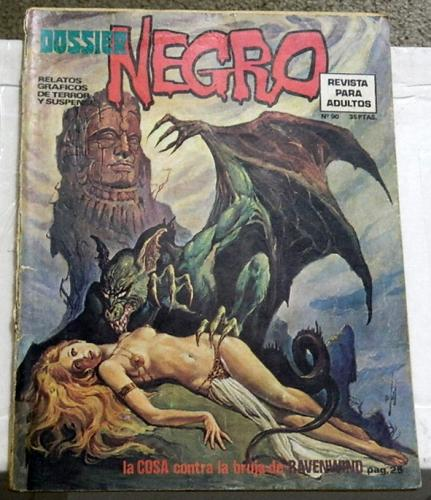 Dossier Negro #90Spain - Nov. 1976Swamp Thing #5