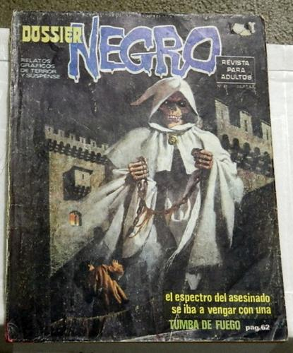 Dossier Negro #91Spain - Dec. 1976Swamp Thing #6