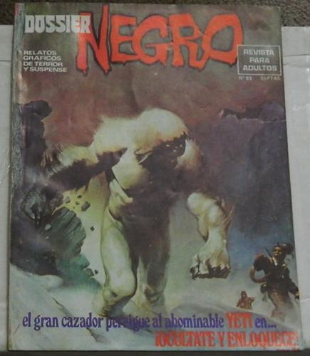 Dossier Negro #93Spain - Feb. 1977Swamp Thing #8