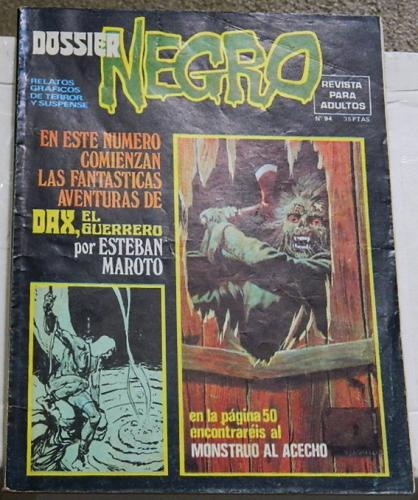 Dossier Negro #94Spain - Mar. 1977Swamp Thing #9