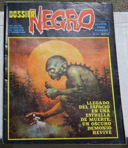 "Dossier Negro #112Spain - Sept. 1978""The Laughing Man"""