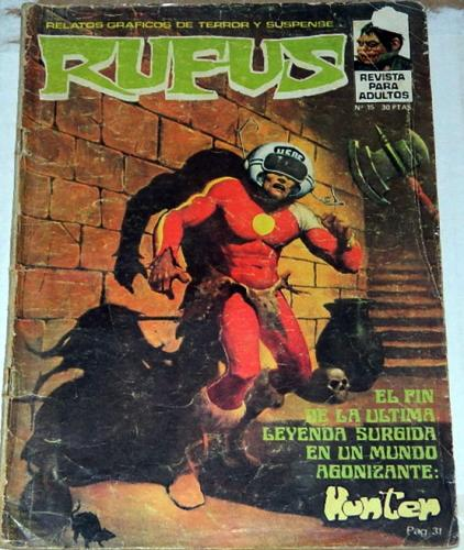 "Rufus #15Spain - Aug. 1974""Pepper Lake Monster"""