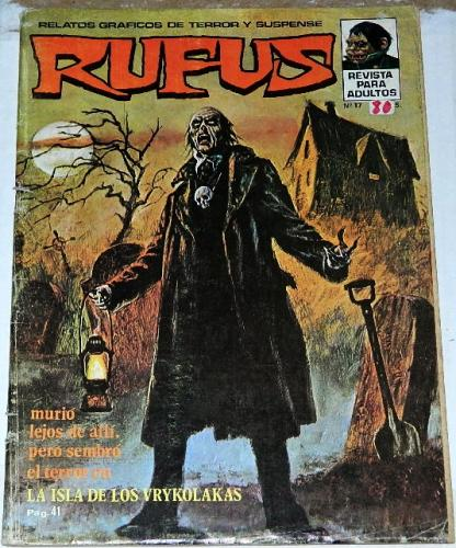 Rufus #17Spain - Oct. 1974Frontis piece Eerie #58