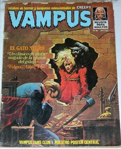 "Vampus #36Spain ""Black Cat"""