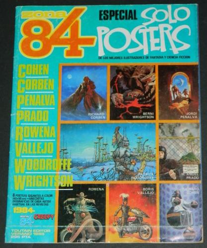 Zona 84 PostersSpain - 1985Ziegfreid poster