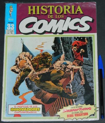 Historia De Los Comics #33Spaincover, Swamp Thing #2