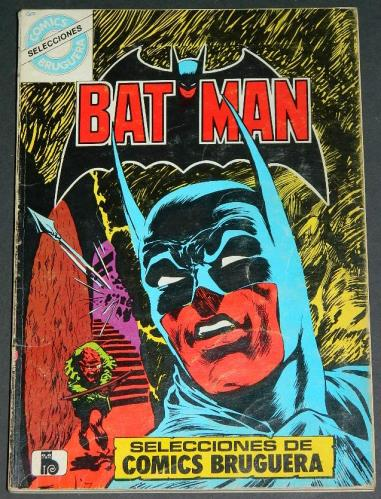 Batman Bruguera Spain 1980 soft coverContains 6 comics
