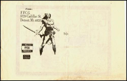 7) FFCG Detroit Mini-Con II Progress Report/Aftermath booklet 1972