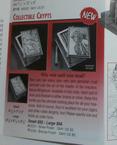 2) Sideshow Collectible Crypts any/all
