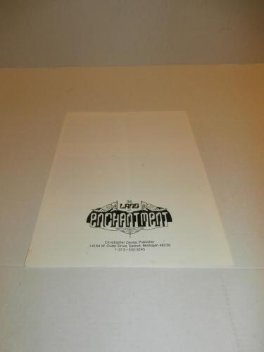 18) Land of Enchantment The Dinosaur flyer/order sheet