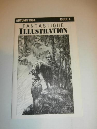 19) Fantastique Illustration Autumn 1984 Issue 4