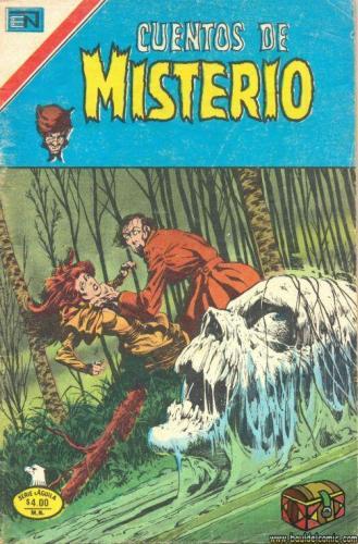 4) Cuentos de Misterio  #302 - Mexico