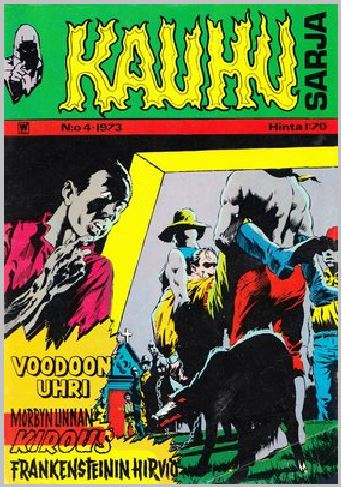 Kauhu-Sarja #4 1973 - Finland