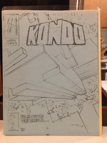 25) Kondo Komics Fanzine (xerox? early 80's? Baltimore?)